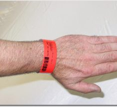 ID Scanner Custom Wristbands
