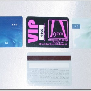 Identification Scanner Custom VIP Cards