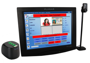 IDetect Touch Identification Scanner All In One